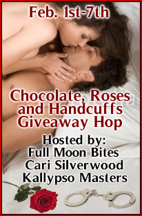 Chocolate, Roses and Handcuffs Giveaway Blog Hop