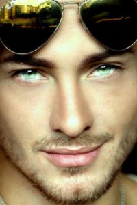 """""""...his eyes were paler, a paleness that pierced, as though being lighter somehow gave them substance."""""""