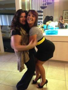 Tara groping me