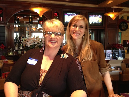 This is Raine Miller  and RK Lilley at Wicked Girls Book Weekend.