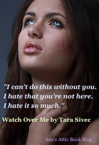 Tara Sivec Watch Over Me