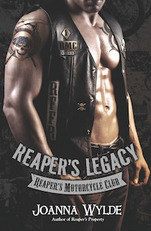Reaper's Legacy by Joanna Wylde Cover Reveal and Giveaway
