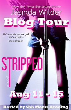 Stripped by Jasinda Wilder Blog Tour and One Hundred Dollar Giveaway