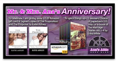 Mr. and Mrs. Ana's Anniversary Party Giveaway