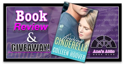 Book Review – Finding Cinderella by Colleen Hoover (FREE) with Giveaway
