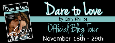 Blog Tour: Dare to Love by Carly Philips Review and Giveaway