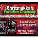 Ana's Chrismukkah Favorites Giveaway Day 3 – Biker Romances