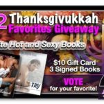 Ana's Thanksgivukkah Holiday Favorites Giveaway Day 2 – Hot and Sexy Books