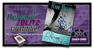 Cherry Girl by Raine Miller Release Day Giveaway