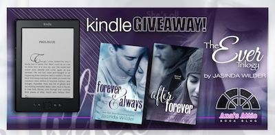 The Ever Trilogy by Jasinda Wilder with Kindle Giveaway!