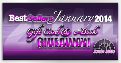 January 2014 Best Sellers with Giveaway