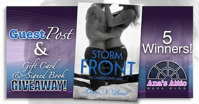 Guest Post by Lisa N. Paul author of Storm Front