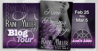 Rare and Precious Things by Raine Miller Blog Tour