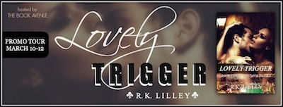 Lovely Trigger by R.K. Lilley Release Day Giveaway