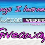 Things I Learned at Wicked Book Weekend Giveaway
