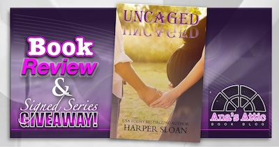 Book Review – Uncaged by Harper Sloan with signed Series Giveaway