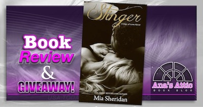 Book Review – Stinger by Mia Sheridan with Giveaway