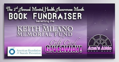 2nd Annual Mental Health Awareness Book Fundraiser with Gift Card Giveaway
