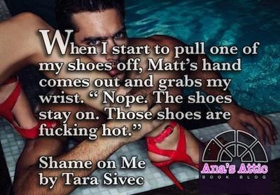 Shame on Me Tara Sivec