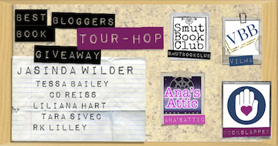 Best Book Bloggers Tour Hop Giveaway
