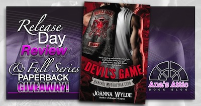 Book Review – Devil's Game by Joanna Wylde with series paperback giveaway