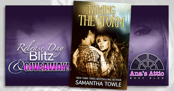 Release Day! Taming the Storm by Samantha Towle