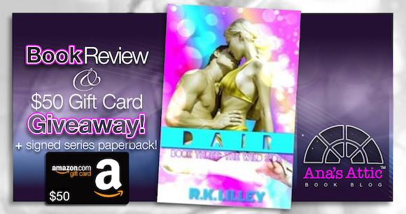 Book Review – DAIR by R.K. Lilley with $50 Gift Card and Signed Paperback