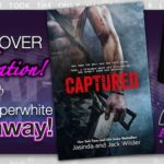 Captured by Jasinda Wilder and Jack Wilder New Cover and Paperwhite Giveaway