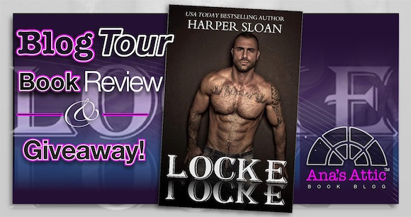Blog Tour – Locke (Corps Security 6) by Harper Sloan with Giveaway