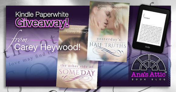 Kindle Paperwhite Giveaway from Carey Heywood