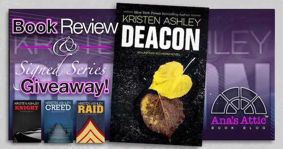 Blog Tour – Deacon by Kristen Ashley with Giveaway