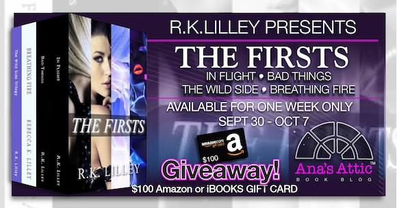 The Firsts by R.K. Lilley – Limited Time with $100 Giveaway!!!