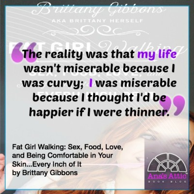 Fat Girl Walking Quote