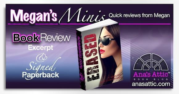Megan's Minis – Erased by K. Webster and Elle Christensen with Signed Paperback Giveaway