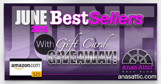 Bestsellers for June 2015 with $25 Gift Card