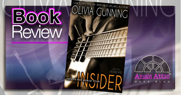 Book Review – Insider (Exodus End) by Olivia Cunning