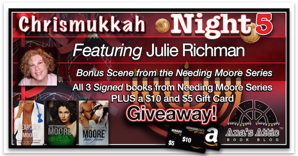 Chrismukkah 2015 Night 5: Julie A. Richman
