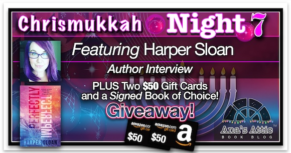 Chrismukkah 2015  Night 7 – Harper Sloan