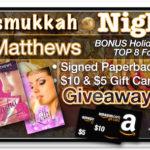 8 Nights of Chrismukkah 2015 Night 1 – Rae Matthews