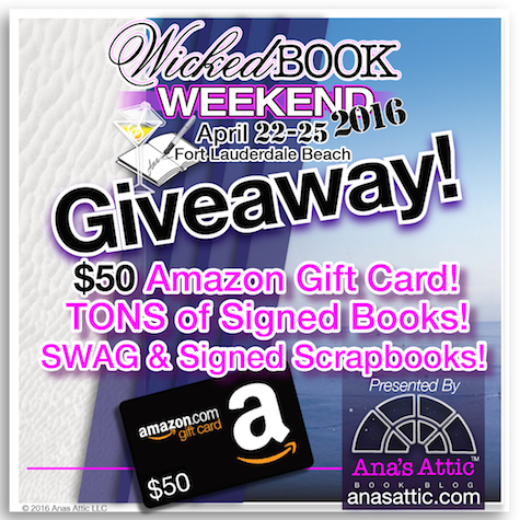 Wicked Book Weekend 2016 Giveaway