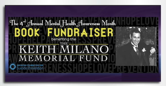 The 4th Annual Mental Health Awareness Month Book Fundraiser