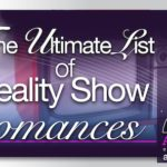 Ultimate List of Reality Show Romance Novels with $15 Giveaway