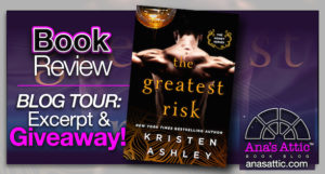 Book Review – The Greatest Risk by Kristen Ashley