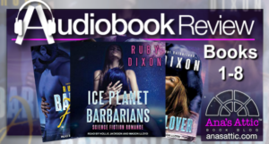 Ice Planet Barbarians 1-8 by Ruby Dixon – Audiobooks Review