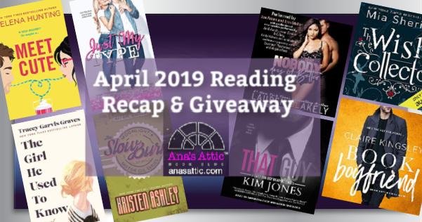 April 2019 Recap and Giveaway