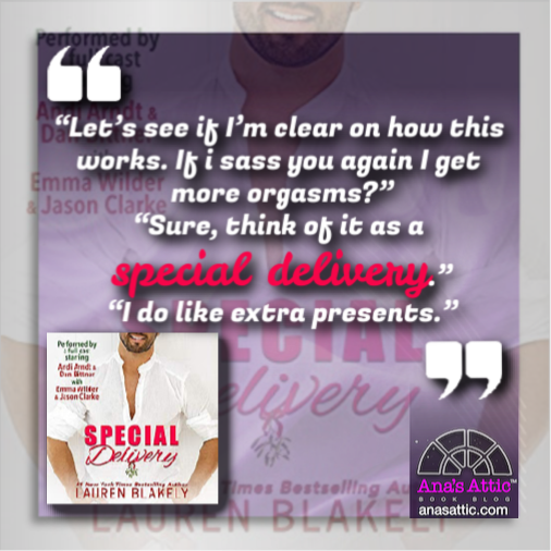 Special Delivery by Lauren Blakely quote