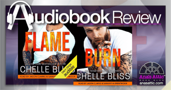 Audiobooks – Flame and Burn by Chelle Bliss