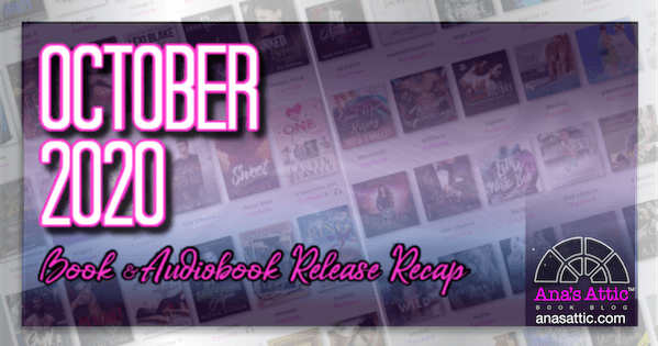 October 2020 Book and Audiobook Release Recap