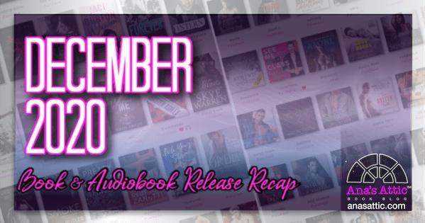 December 2020 Book and Audiobook Release Recap