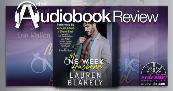 My One Week Husband by Lauren Blakely | Audiobook Review